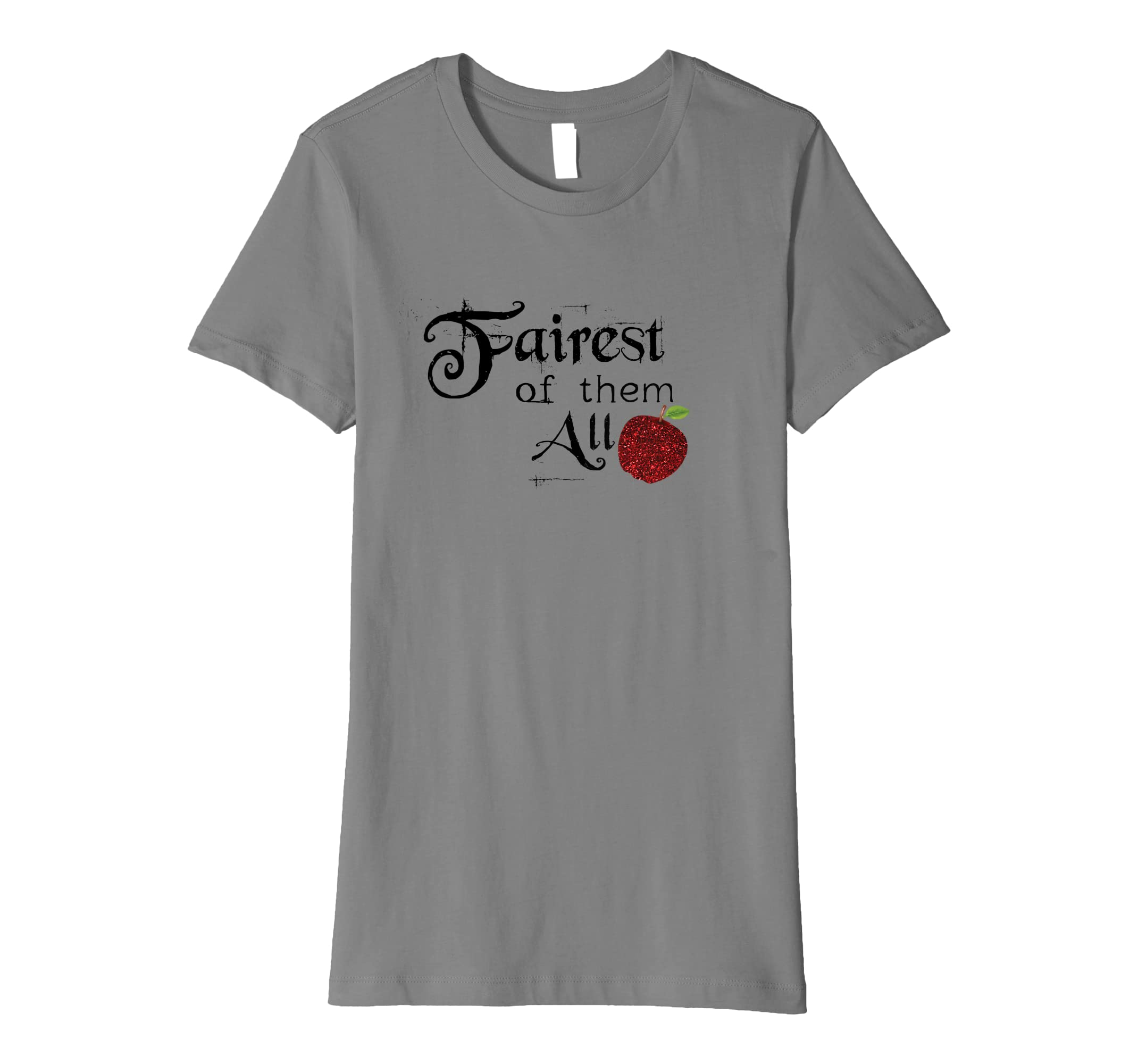 3a7b7b73 Amazon.com: Kids Adults Fairest of Them All Princess T-Shirt: Clothing