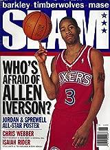 Slam Whos Afraid of Allen Iverson Jordan Shaq Kobe June 1997 #4