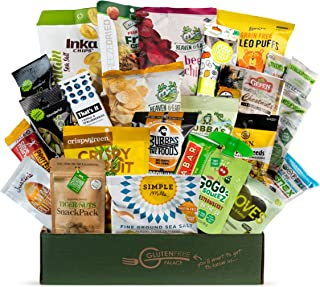 PALEO SNACKS Variety Pack for Adult | Healthy Snack Box includes Gluten Free Vegan Snacks [25 Count] Mix of Whole Foods, P...