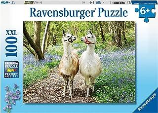 RAVENSBURGER PUZZLE Flauschige Freundschaft Ravensburger 12941 Fluffy Friendship 100 Pieces XXL Puzzle for Children from 6...