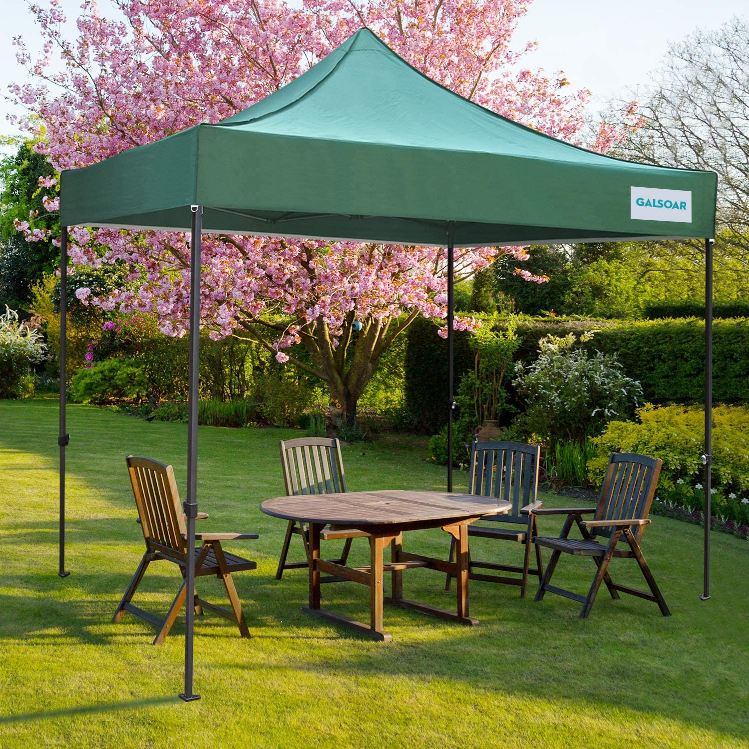 Pop Up Canopy GALSOAR 10' Portable Outdoor Columbus Mall New products world's highest quality popular x Foldin