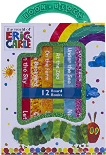 World of Eric Carle, My First Library Board Book Block 12-Book Set – PI Kids