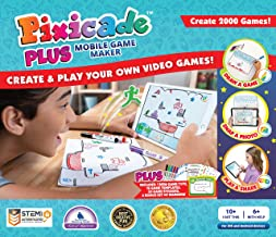Pixicade Plus: Transform Creative Drawings to Animated Playable Kids Games On Your Mobile Device or Tablet- Build Your Own Video Game- Award Winning STEM Toys for Ages 6 - 12+