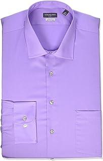 Van Heusen Men's Big FIT Dress Shirts Flex Collar Solid...