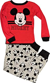 Mickey Mouse Pajamas 2-Piece Long Sleeve Sleep Set for Toddlers