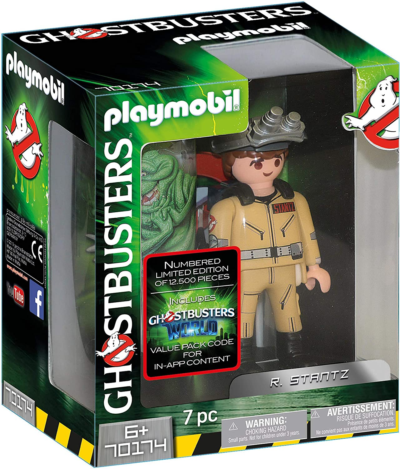 Playmobil 70174 Ghostbusters Collector's Edition R. Stantz