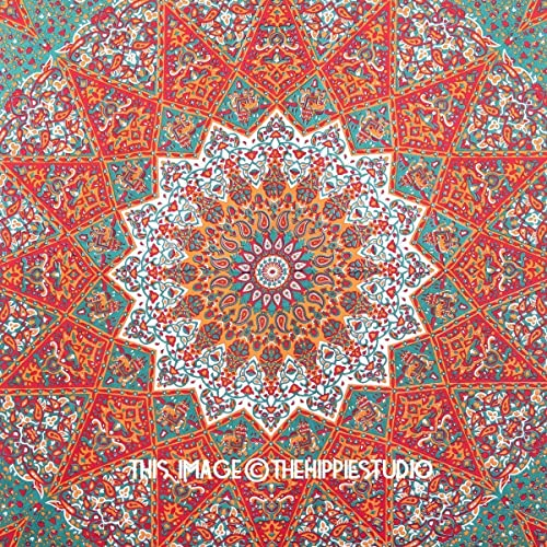 Charming 1 X Queen Indian Star Mandala Psychedelic Tapestry, Hippie Bohemian Wall  Hanging Tapestries, Bedspread