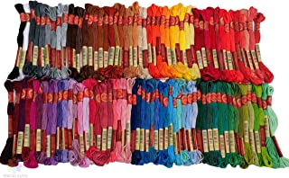 Embroidery Thread - Full 100 Colors Embroidery Floss Skeins Set Perfect for Cross Stitch and Friendship Bracelets