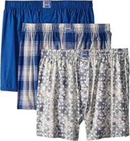 Blue Collection 3-Pack Woven Boxer