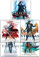 Throne Of Glass Series Collection 5 Books Set By Sarah J. Maas (Throne of Glass, Crown of Midnight, Heir of Fire, Empire o...