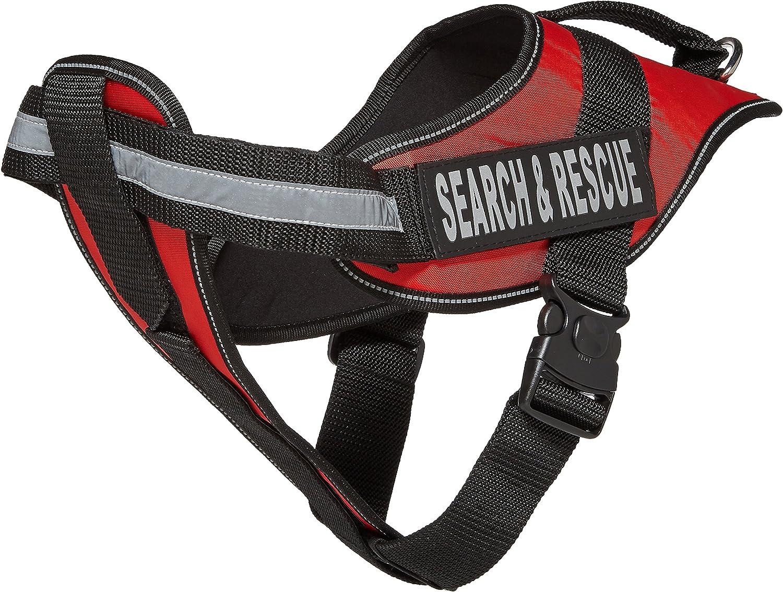 Dogline Alpha Nylon Service Vest Harness 贈与 人気の定番 Search with Rescue Ve
