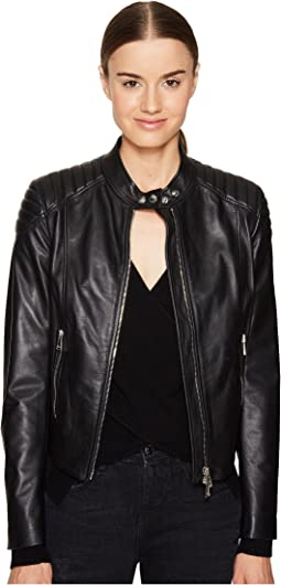 BELSTAFF - Mollison Luxe Lightweight Napa Leather Jacket