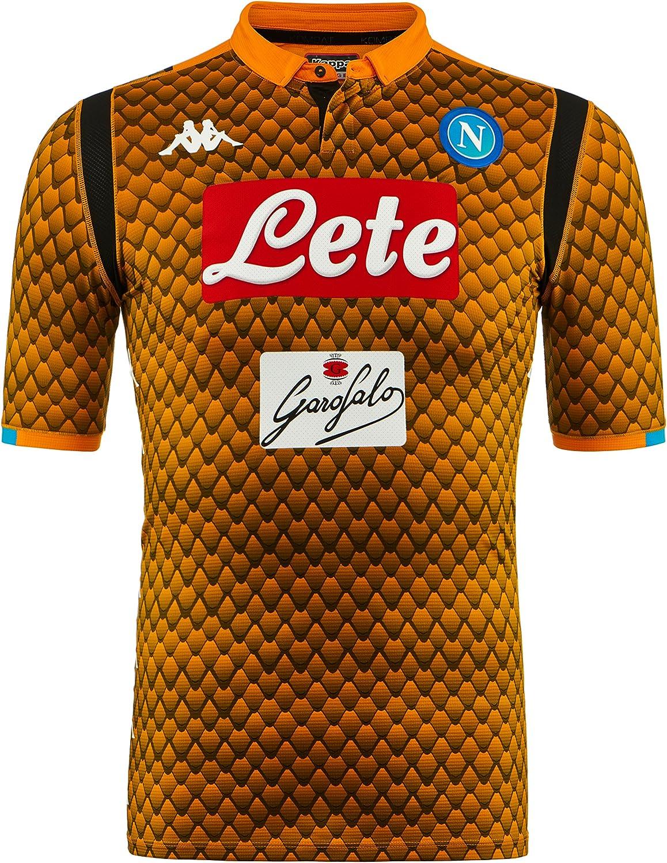Nero SSC Napoli Maglia Gara Away 2018/2019 Uomo M Abbigliamento ...