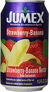 Jumex Strawberry And Banana Nectar, 11.3-Ounce (Pack of 24)