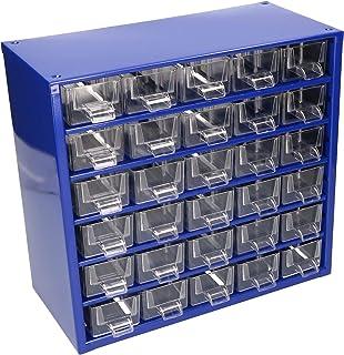 KOTARBAU® Kleine onderdelen magazijn metaal 30K sorteerdoos onderdelen box opbergdoos voor kleine onderdelen