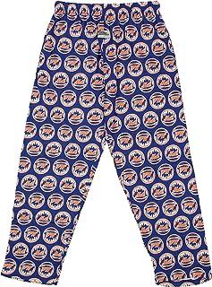 Zubaz MLB Mens Big Logo Print Lounge Pants