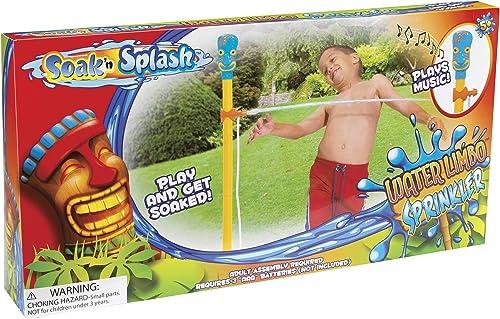 Little Kids Soak n Splash Water Limbo Sprinkler by Little Kids TOY (English Manual)