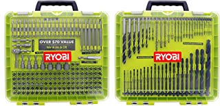 Ryobi A981952QP 195 Piece Drilling and Driving Kit for Wood, Plastic, Metal, and Masonry Work