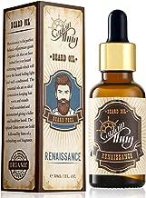 Captain Thug Renaissance Beard Oil Conditioner – Ultra Premium Ayurveda – 8 Essential Oils – Softens, Smooths & Strengthens Beard Growth – Grooming Beard and Mustache Nourishment Treatment – 1 fl. oz.