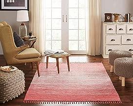 coral area rug
