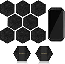Coasters for drinks (8) Pcs Coasters- Bonus (1) Pcs Unique Cellphone Coaster [With Durable Coaster Holder] Super Absorbent Felt Coasters Perfect For Gifts- Brand New Modern Sets (2018)