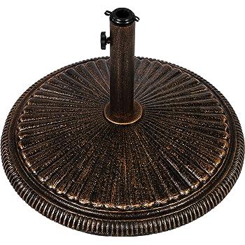 Sonnenschirmständer Schirmständer Sonnenschirmfuß Zement 13 kg Ø35//Ø38//Ø48mm