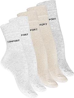 VCA, 10 pares de calcetines Mujer, Comfort sin einengendes goma cintura