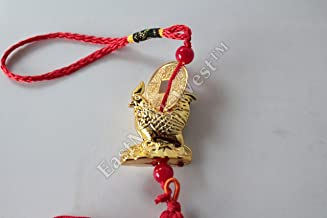 Chinese Feng Shui Protection Rooster Zodiac Year of Rooster Rooster on Treasure Wall Door Car Hanging Charm