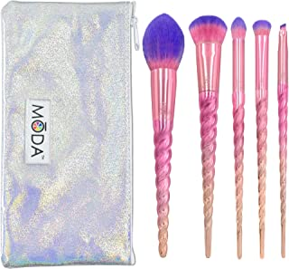 Royal & Langnickel Moda Mythical Pro Makeup Brushes Unicorn Star Travel Kit