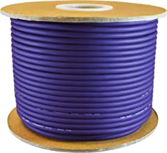 GLS Audio Bulk Microphone Cable 300` Purple Mic -300ft Signal Mike Cable