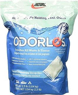 Odorlos V77020 10 x 4 oz Holding Tank (Quick Dissolving Packets, 10 Treatments)