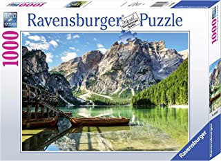 Ravensburger Puzzle Puzzle de 1000 pièces - Pragser Wild See, Dolomite, Tirol du Sud - pour Adultes et Enfants à partir de...