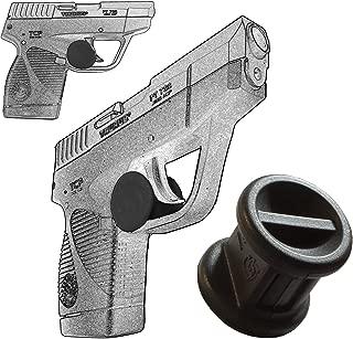 Garrison Grip ONE Micro Trigger Stop Holster Fits Taurus PT738 TCP 380 & PT732 .32 ACP s18 Black