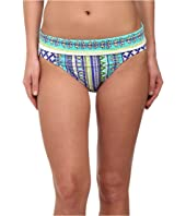 Bleu Rod Beattie - Baja Bohemian Banded Hipster Bikini Bottom