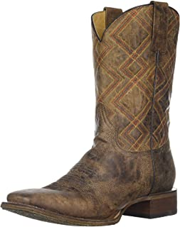 حذاء Rper Men's Nash Western Boot, بني 8. 5 D US