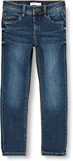 NAME IT Nkmsilas Dnmcart Pant Camp Jeans para Niños
