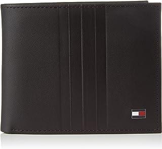 محفظة البطاقات ميترو ميني للرجال من تومي هيلفجر، لون اسود - AM0AM05854