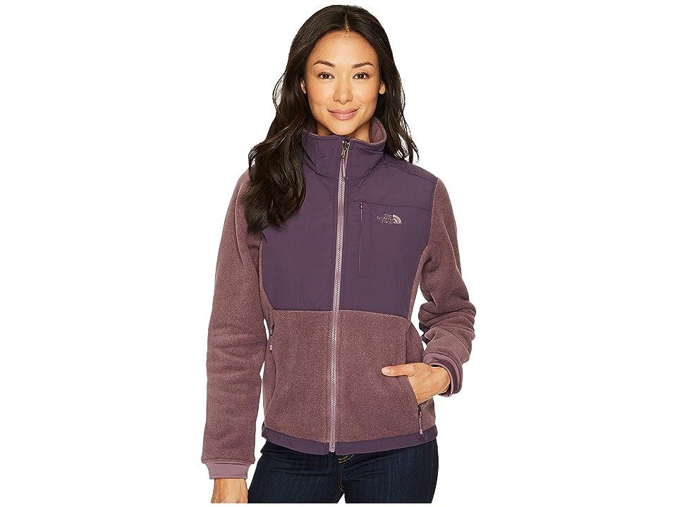 The North Face Denali 2 Jacket (Black Plum Heather/Dark Eggplant Purple) Women