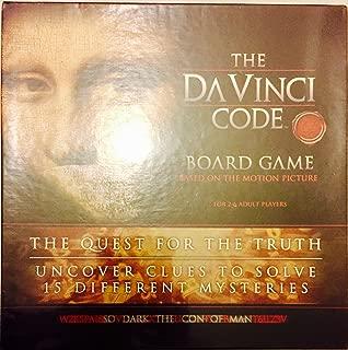 Mega Brands Da Vinci Code Board Game