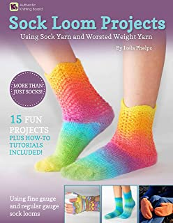 Authentic Knitting Board Sock Loom Projects