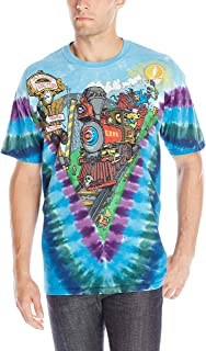 Liquid Blue Men's Grateful Dead Casey Jones T-Shirt