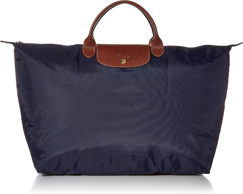 Longchamp Le Pliage Large Travel Bag, Bilberry, 17.75