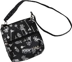 Glove It Golf Zip Bag - Crossbody Organizer with 2 Pockets, 24 in Detachable Strap, Polyester, Lightweight Women's Golf Accessory Bag