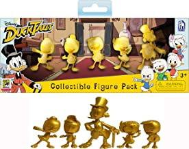 SDCC 2018 Exclusive Disney's Duck Tales 5-Piece Golden Figurine Set