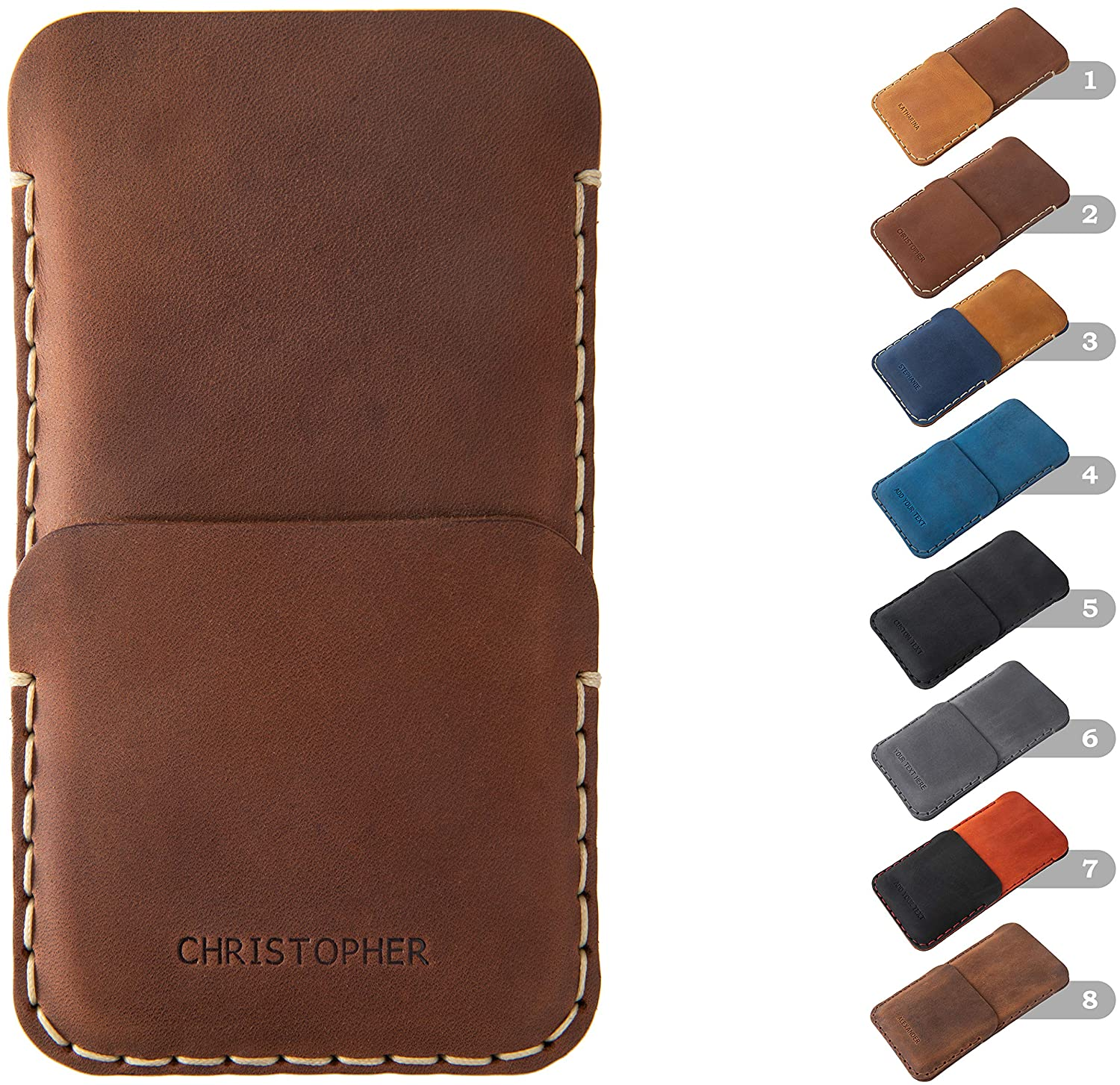 Limited Special Price Personalized Leather Cover works with Cat Max 68% OFF Case S41 Walle S31 S60