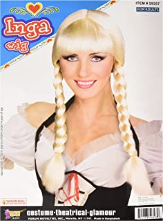 Forum Novelties Inc - Inga from Sweden Wig (Blonde)