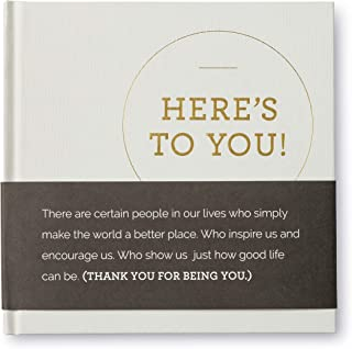 Compendium Here's to You! — A gift book of appreciation.
