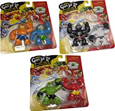 Heroes of Goo Jit Zu Minis Versus Bundle - Pantaro, Scorpius, Thrash, Tygor, Blazagon, and Rock Jaw