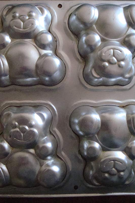 Wilton Mini Teddy Bear Baking Pan 2105 9437