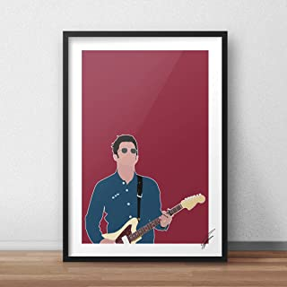 Illustrazioni ispirate a Noel Gallagher.